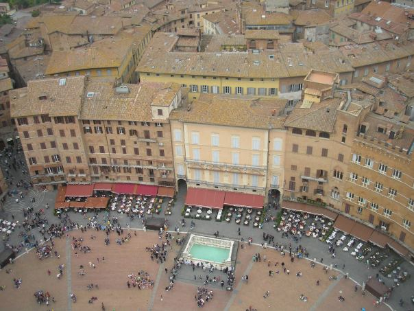 One year ago in Siena, Italy